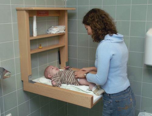 Väggskötbord – en säker plats för ditt barn